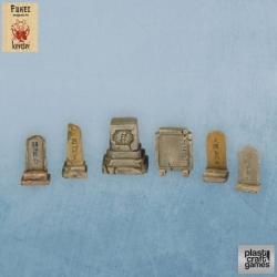 Set de tumbas japonesas